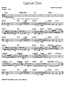 Melody Leadsheet